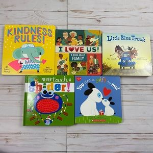 Bundle of 5 Baby Toddler Board Books - All New
